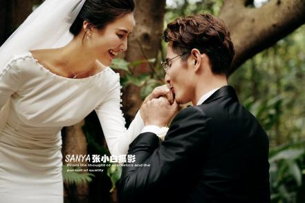 排行榜三亚婚纱摄影张小白工作室介绍,旅拍拍婚纱照前十名哪家好