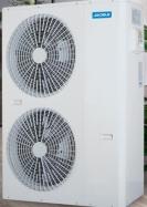 来2020中国热泵展看家得乐320mm极薄机身的家用变频采暖机