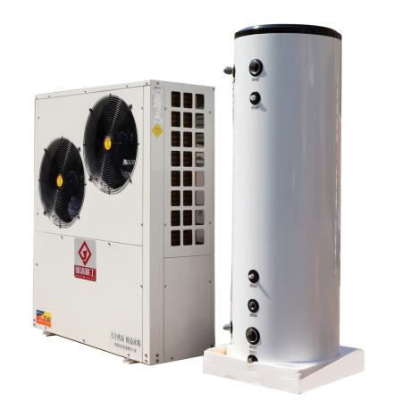 直击机组防冻痛点,锦沐精工携分体式采暖机亮相2020中国热泵展